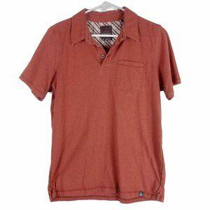 PrAna Men's Marco Printed Short Sleeve Polo Shirt